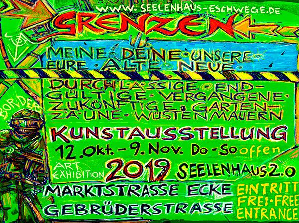 Kunstausstellung GRENZEN