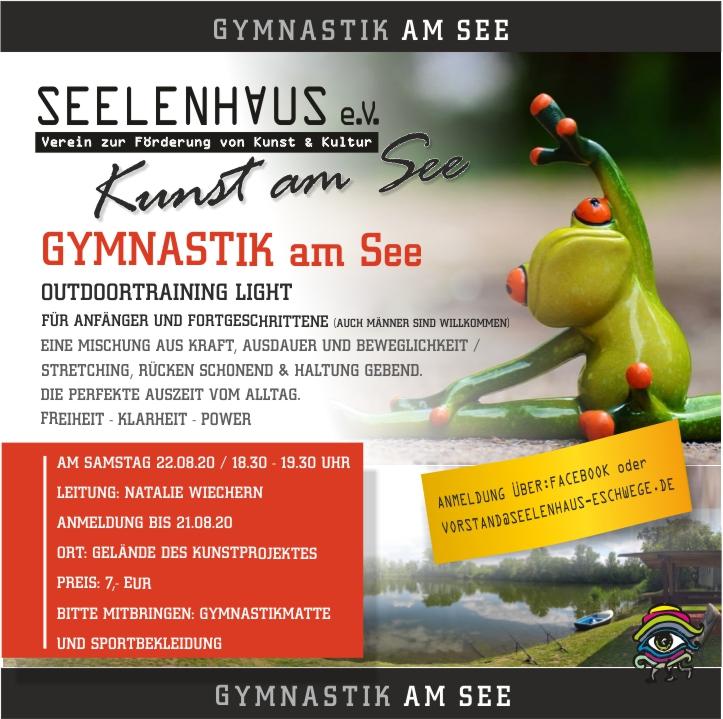 Gymnastik am See