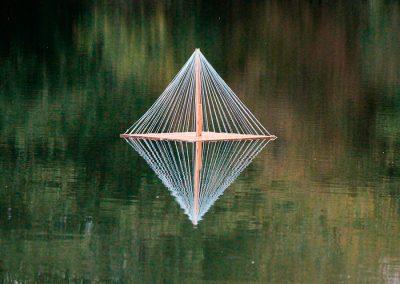 Wasserinstallation Pyramide