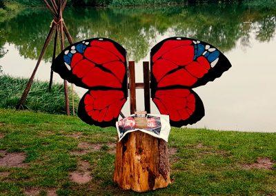 Der Schmetterlingsstuhl